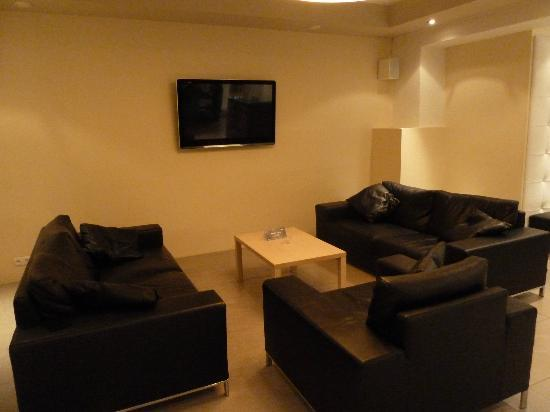 Hotel Klettur: de lounge