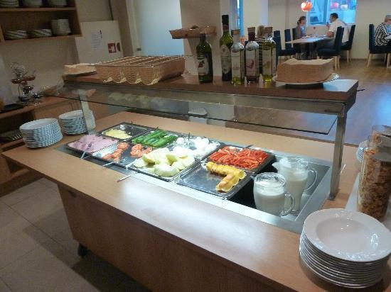 Hotel Klettur: het ontbijt