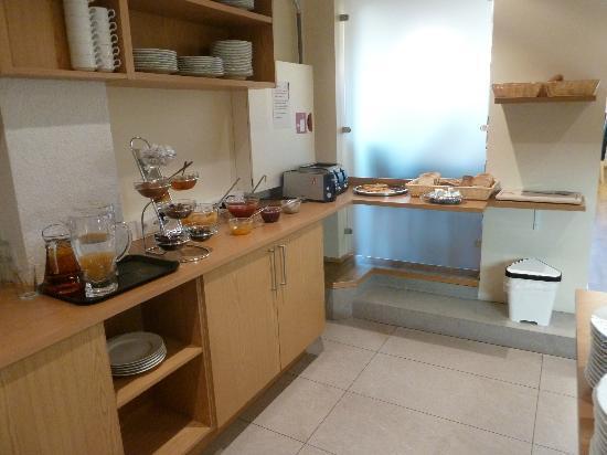 Hotel Klettur: ontbijt