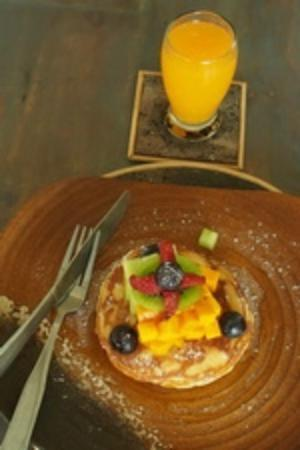 Room@Bali Hip Suite: breakfast pancake