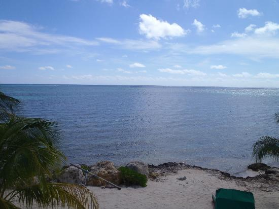 Compass Point Dive Resort: View of the amazing ocean from the balcony of the room