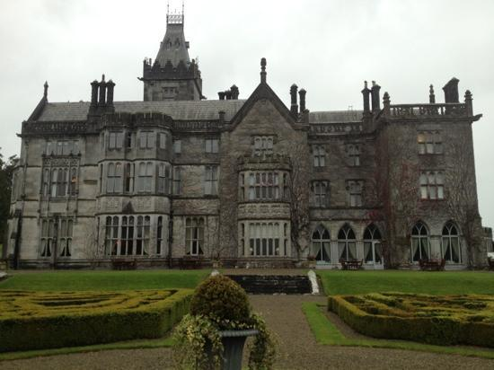 Adare Manor: rear of the Manor