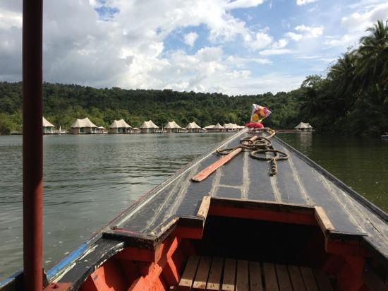 4 Rivers Floating Lodge: Upon Arrival...