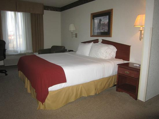 Holiday Inn Express North Platte: King bed