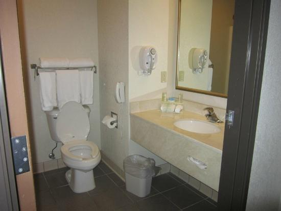 Holiday Inn Express North Platte: bathroom