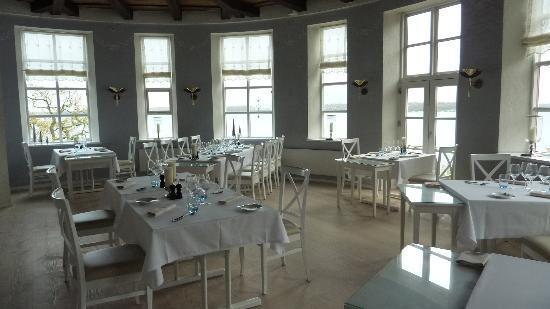 Hotel Fakkelgaarden: The tower dining room