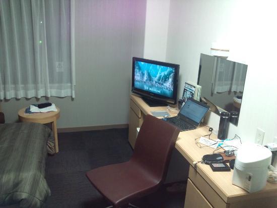 Hotel Route Inn Chichibu: 机もあります