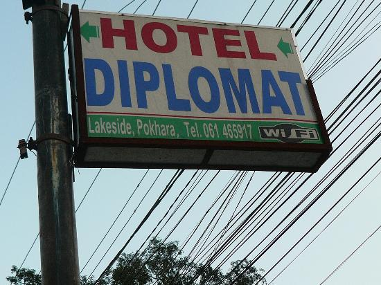 Hotel Diplomat: tel car pas facille a trouver !!