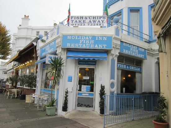 Holiday Inn Fish Restaurant: So you won't miss it