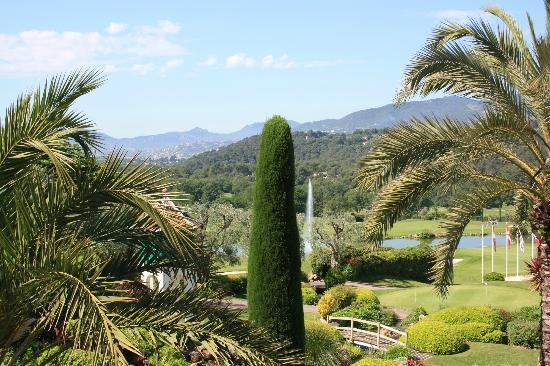 Royal Mougins Hotel : view from terrace
