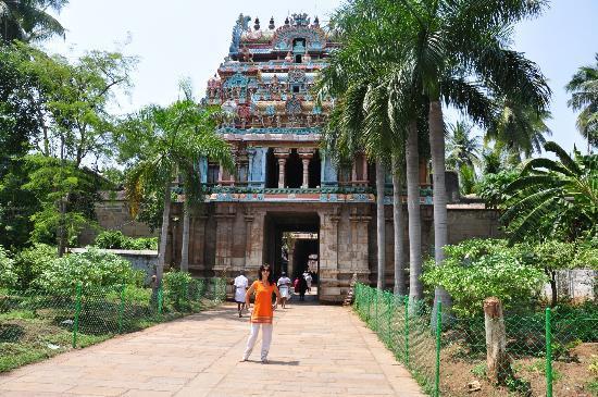 Тиручираппалли, Индия: gopuram