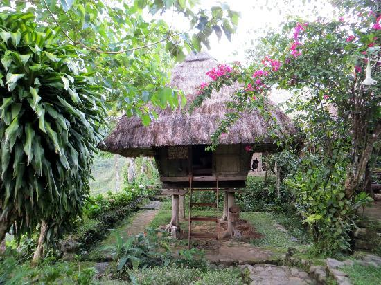 Native Village Inn & Restaurant: Native Ifugao hut: sleeping room