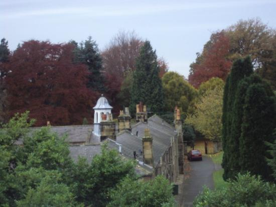 Gisborough Hall Hotel: View from window