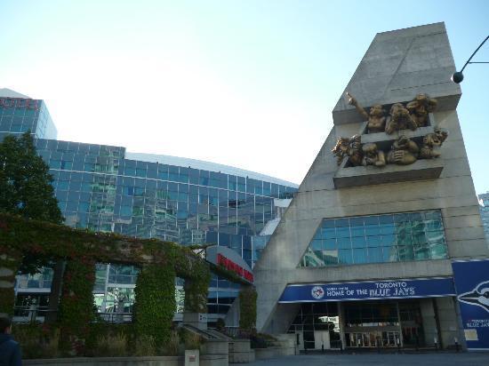 Toronto Marriott City Centre Hotel Renaissance Im Rogers Von Außen