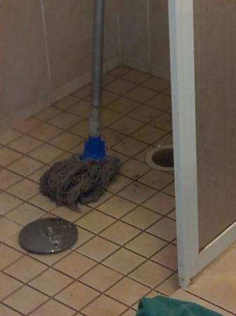Tucanes Gay: Ablauf der Toilette überflutete das komplette Bad