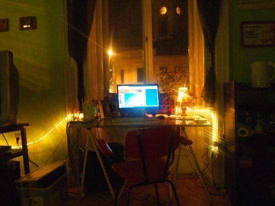 Goat Hostel: common room