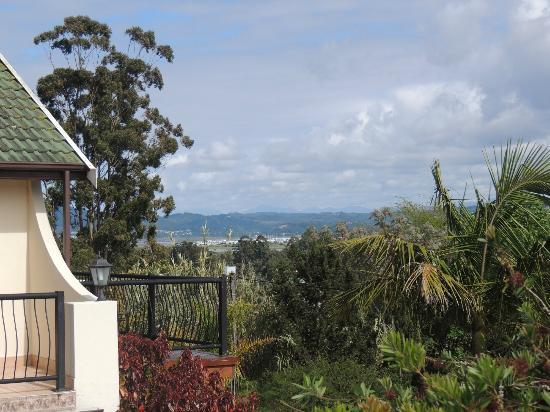 Knysna Country House: view from the terrace