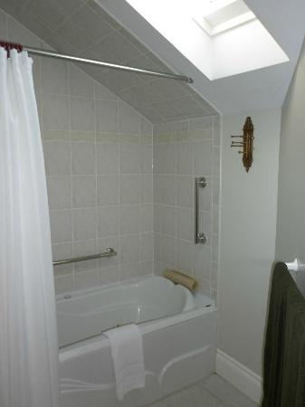 Everheart Country Manor: shower area of Garden View Suite