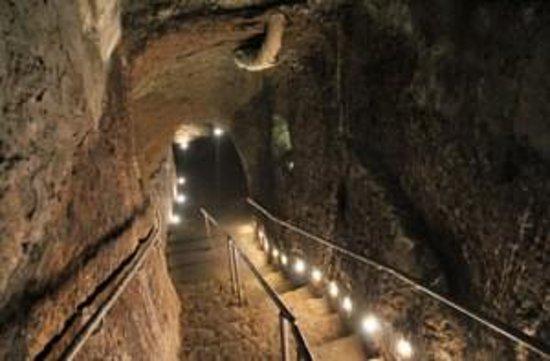Viterbo Sotterranea, ingresso etrusco