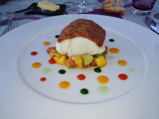 Hotel Le Mur du Roy : une petite idee sur les menus du chef