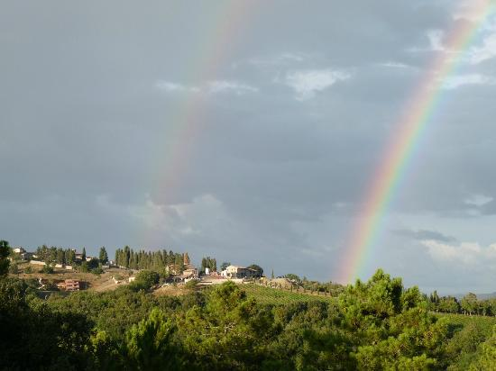 Castello di Casole Private Estate & Spa: This hotel truly is the pot of gold at the end of the rainbow