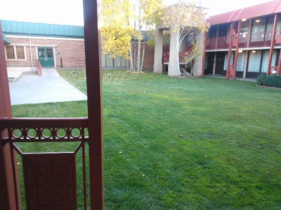 Durango Downtown Inn: Il cortile interno