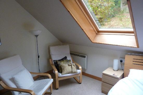 The Barn B&B: Our wonderfully comfortable room.
