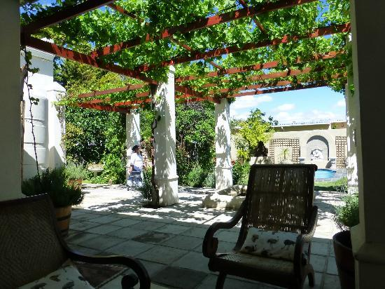 Aa'Qtansisi Guesthouse: the terrace