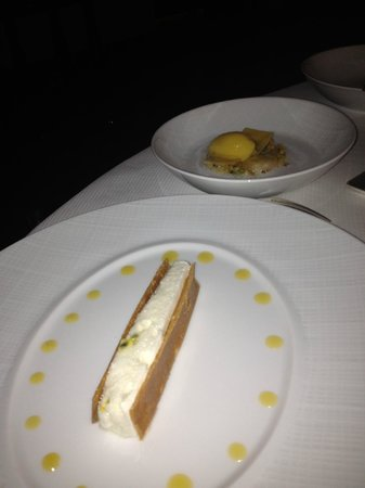 """L'Assiette Champenoise: Dessert """"Mangue"""""""