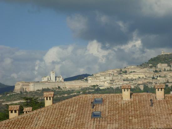 zumata di Assisi dall'hotel Cenacolo