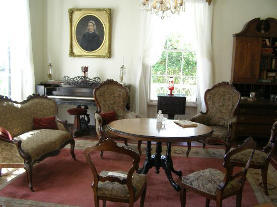 Burt Stark Mansion: The room where the last council of war was held.