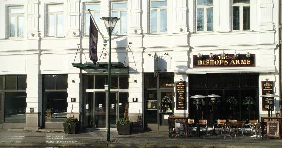 Elite Plaza Hotel Malmo: Vooraanzicht hotel