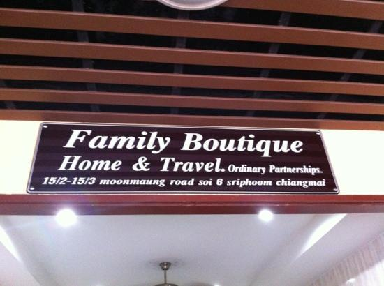 Family Boutique Home & Travel: Stay here!