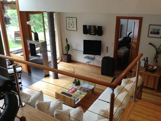 Suitenhotel Zurbriggen: our beautiful main floor (2) bedroom suite
