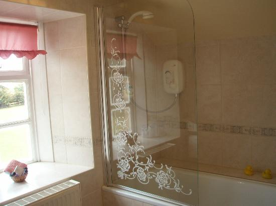 Columba House Hotel: En-suite including bath/power shower