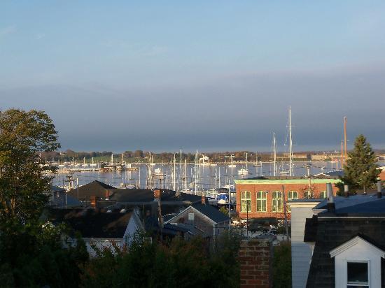 Spring Street Inn: View of the harbor