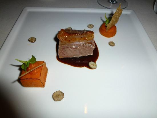 Park Rotana Abu Dhabi: lamb and pumpkin