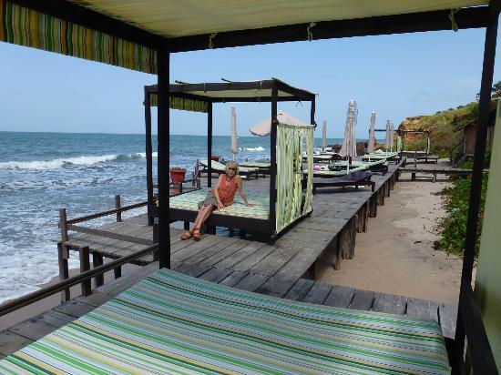 Ngala Lodge: Bathing Platform