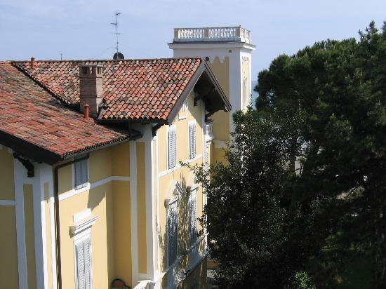 "Hotel Villa Erica: ""Meerblick"" vom Zimmer"