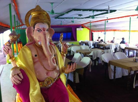 Lonely Planet: Say hi to Ganesh on your way in