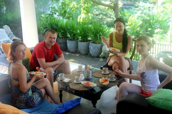 Hibiscus Villa: Завтрак
