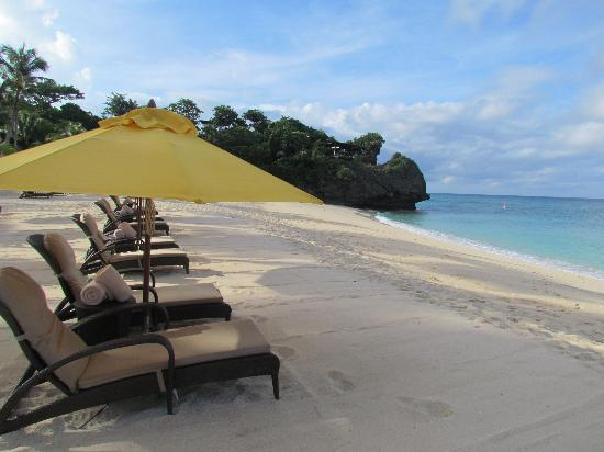 Shangri-La's Boracay Resort & Spa: one of the private beach