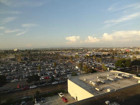 Sheraton Gateway Los Angeles: Zimmeraussicht
