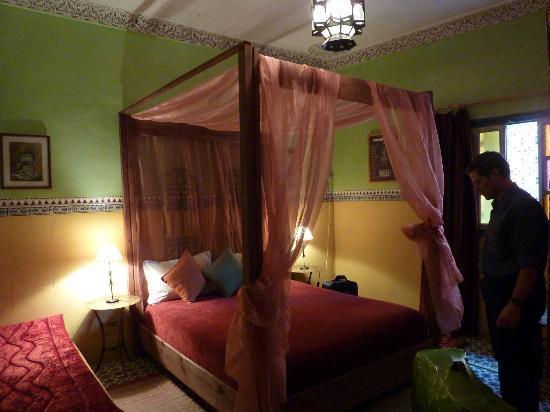Riad Numero 10: la cama