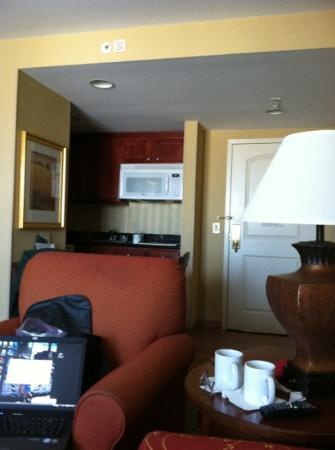 "Homewood Suites Birmingham South Inverness: Great place to ""crash"""