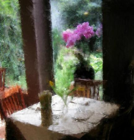 Pane e Tulipani : tavolo per due