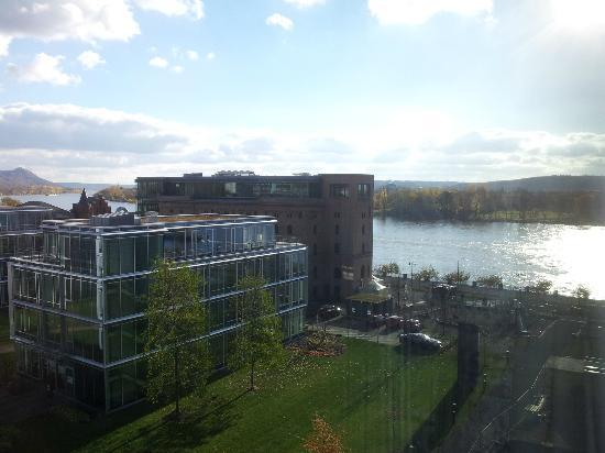 Kameha Grand: View to the Rhein from the room