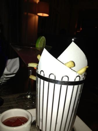 The Conservatory : fries at the lounge