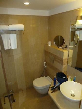 Goldfinch Hotel Bangalore: Badezimmer