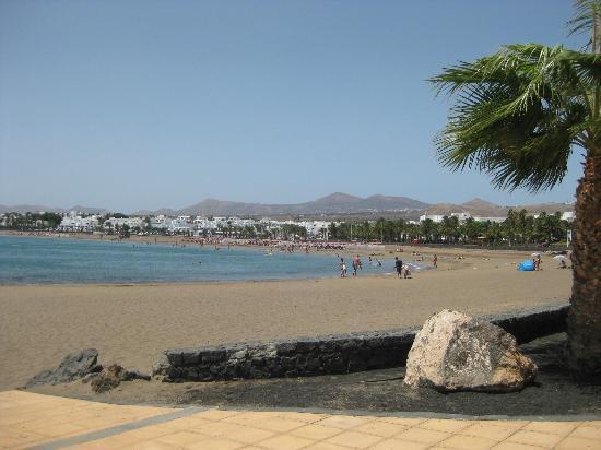 Hotel Floresta: Beach towards Porta Del Carmen